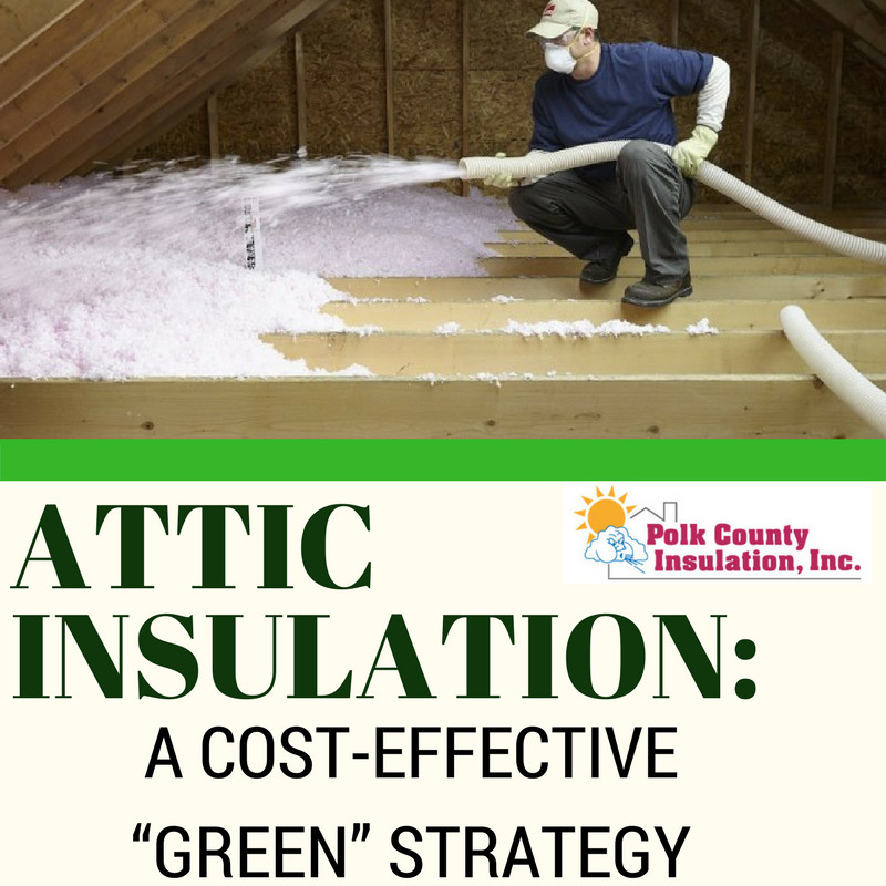 Attic insulation a cost effective green strategy - Advice on insulating your home effectively ...