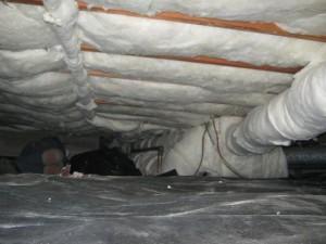 Crawl Space Insulation, Florida