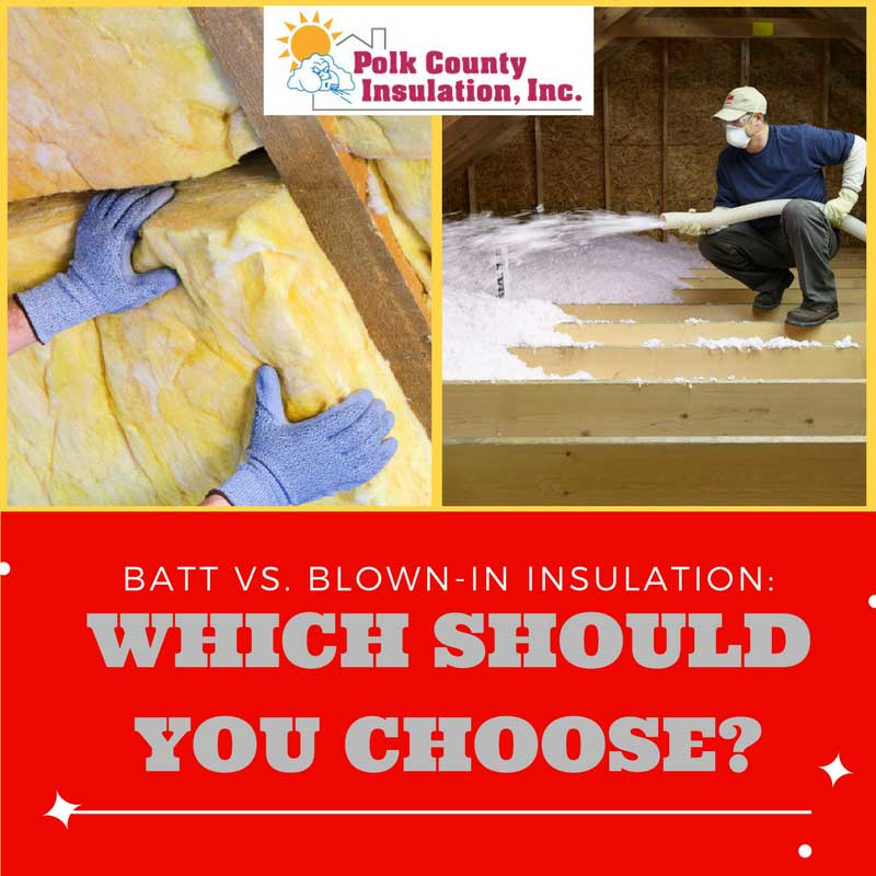 batt vs blown in insulation which should you choose