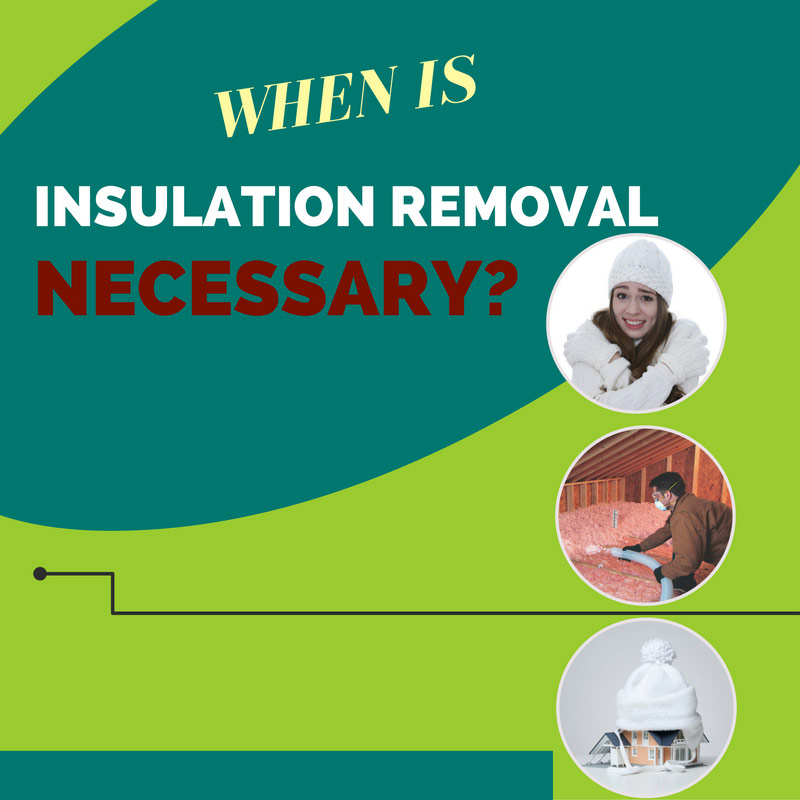 When is Insulation Removal Necessary?