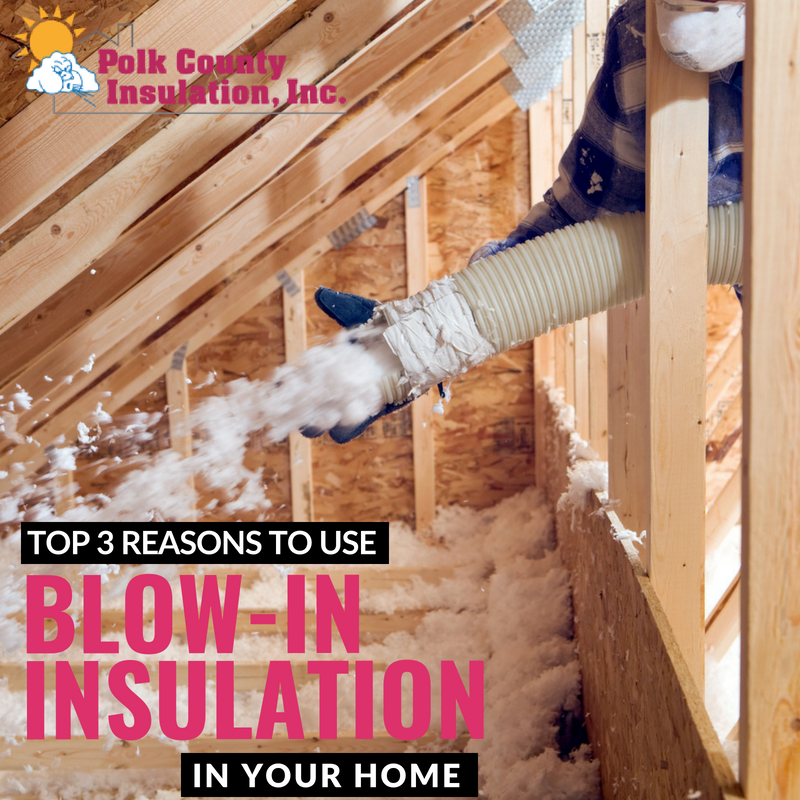 Top 3 Reasons to Use Blow-In Insulation in Your Home