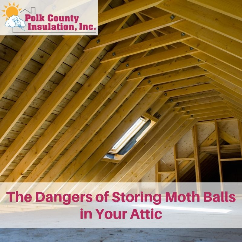 The Dangers of Storing Moth Balls in Your Attic