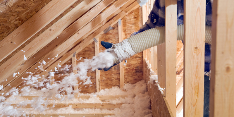 adding attic insulation to your space