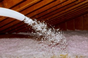 Blow-in attic insulation is a great defense for your home